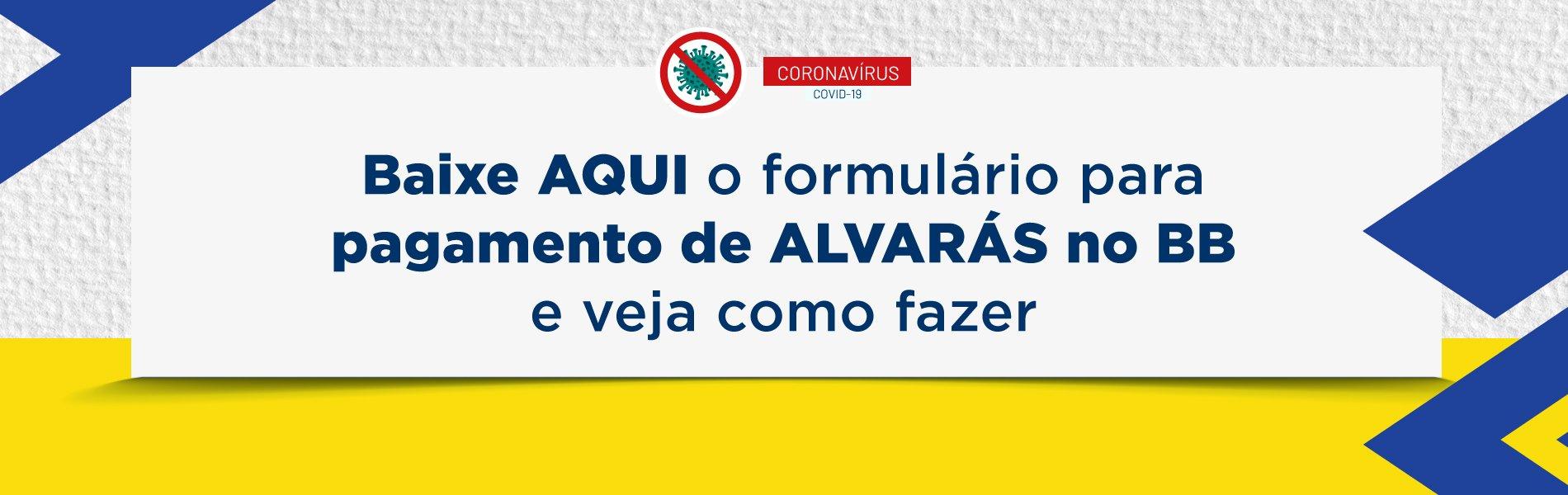 [Coronavírus: Banco do Brasil inicia pagamento de alvarás]